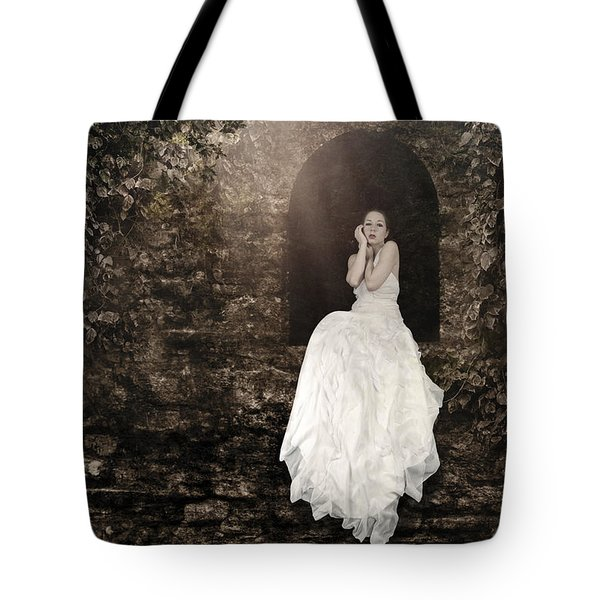 Princess In The Tower Tote Bag