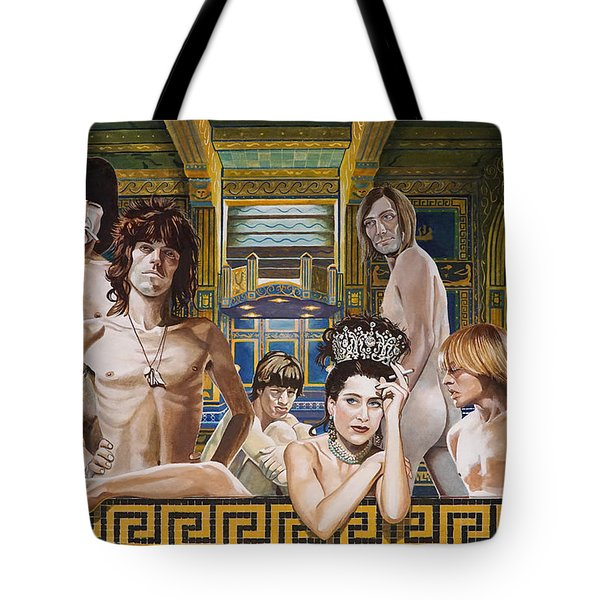 Princess Margaret Gets Stoned Tote Bag by Jo King