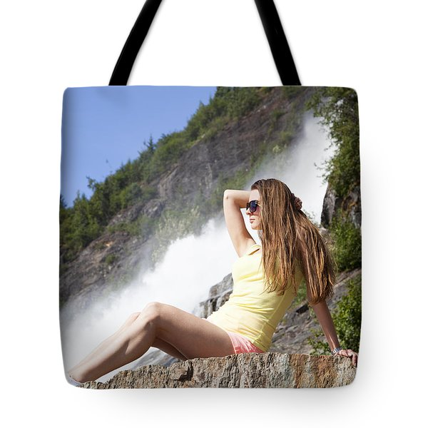 Princess Of Alaska Tote Bag