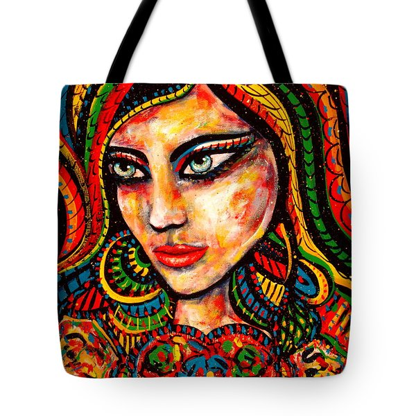 Princess Of Desire Tote Bag by Natalie Holland