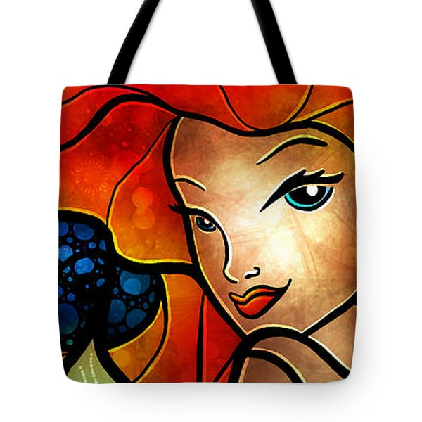 Princess Of The Seas Tote Bag