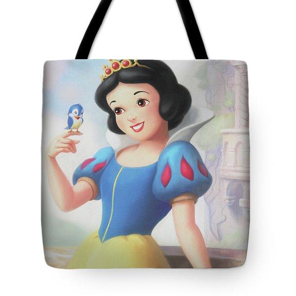 Princess Snow White Tote Bag