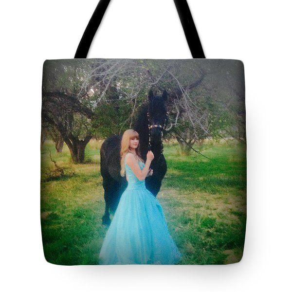 Princess' Stallion Tote Bag