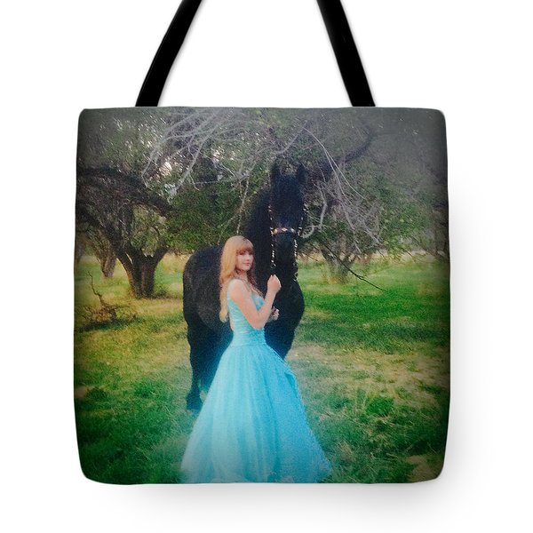 Princess' Stallion Tote Bag