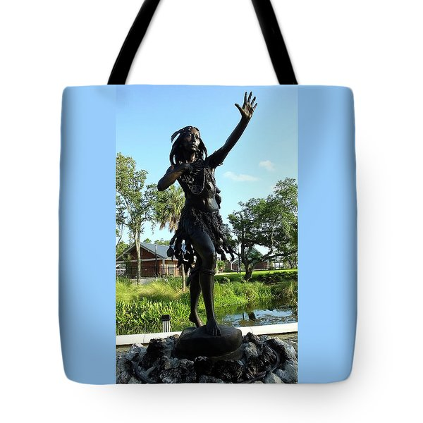 Princess Ulele Statue Tote Bag