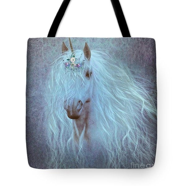 Princess Unicorn Tote Bag