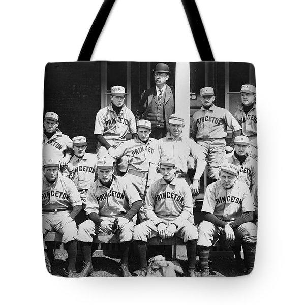 Princeton Baseball Team Tote Bag by American School