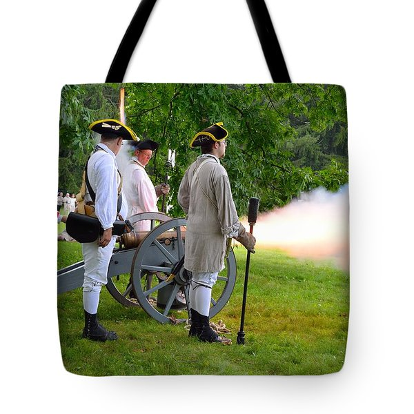 Tote Bag featuring the photograph Princeton Battlefield 1 by Steven Richman