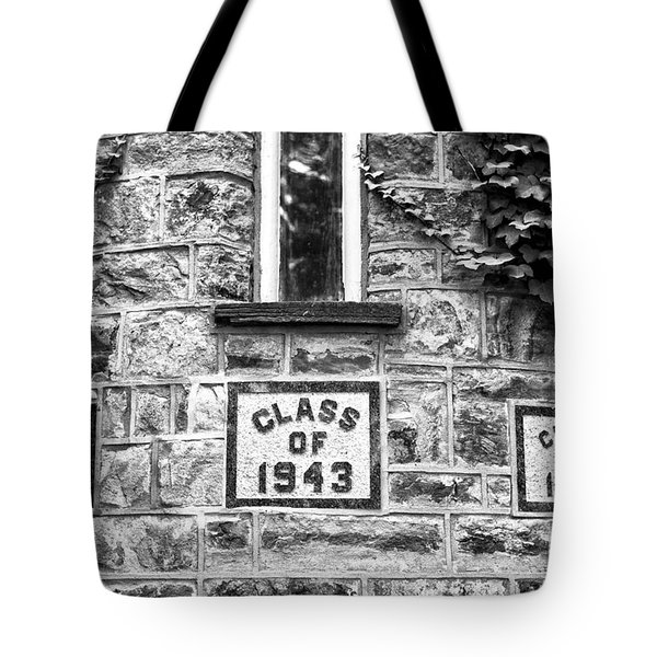 Princeton Class Of 1943 Tote Bag by John Rizzuto