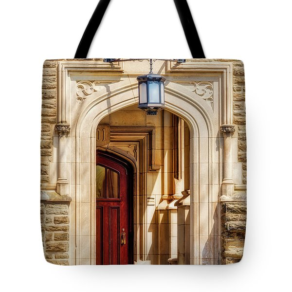 Tote Bag featuring the photograph Princeton University 1901 Laughlin Hall by Susan Candelario