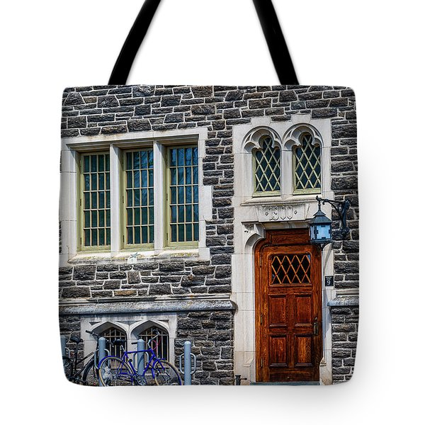Tote Bag featuring the photograph Princeton University Patton Hall No 9 by Susan Candelario