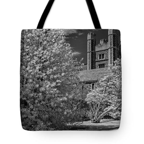 Tote Bag featuring the photograph Princeton University Buyers Hall by Susan Candelario