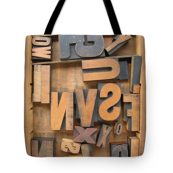 Printers Box Tote Bag