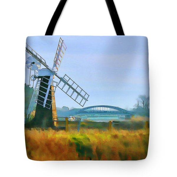 Priory Windmill Tote Bag