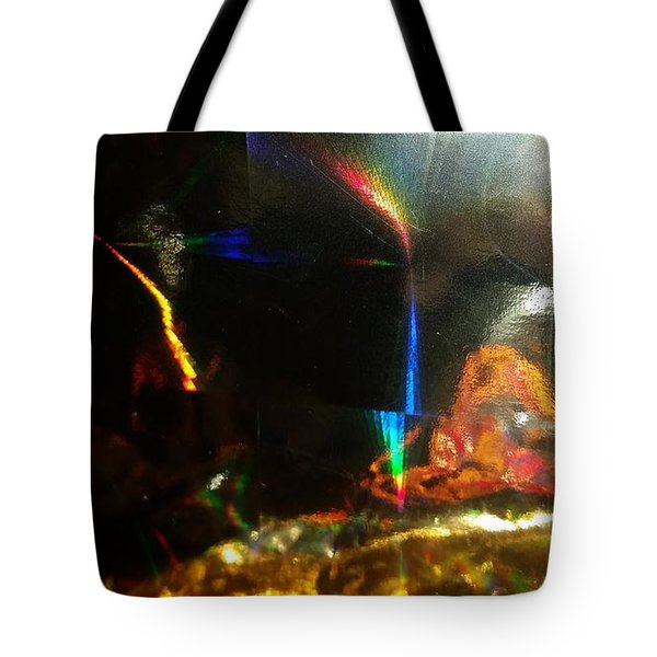 Prism Aftereffects Tote Bag