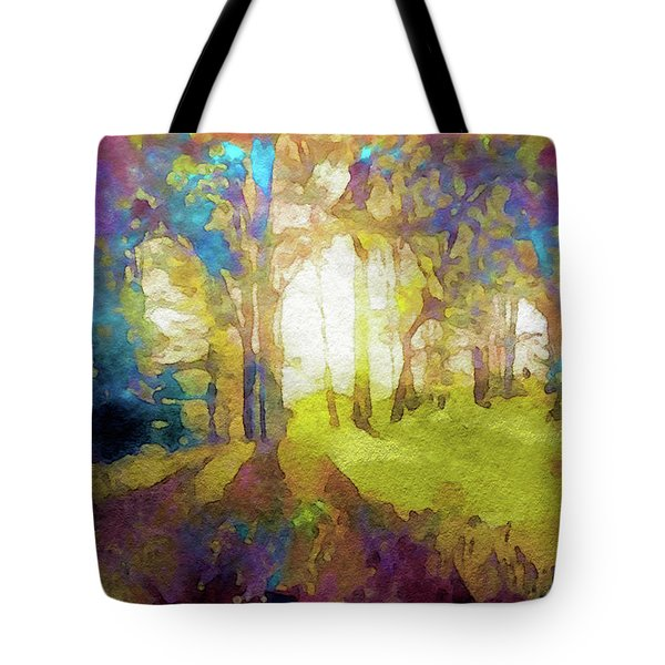 Prismatic Forest Tote Bag