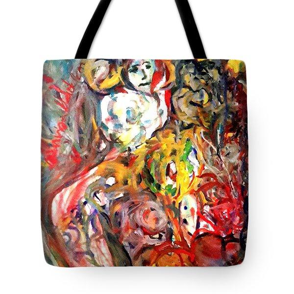 Prison Of Love 5 Tote Bag