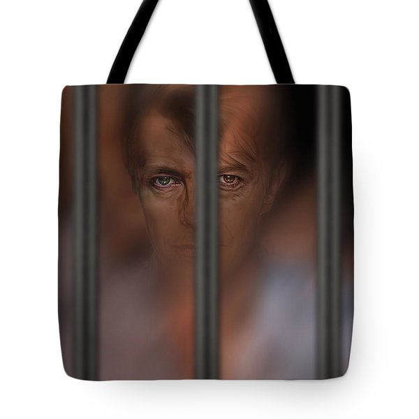 Tote Bag featuring the digital art Prisoner Of Love by Pedro L Gili