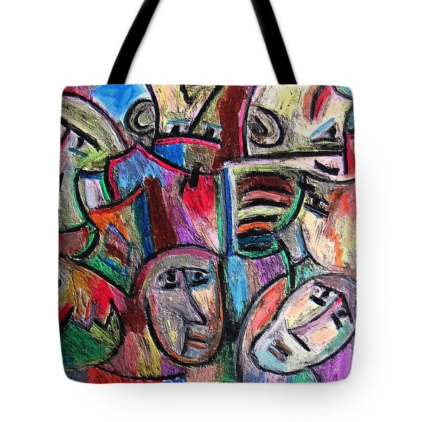 Prisoners By Rafi Talby Tote Bag by Rafi Talby