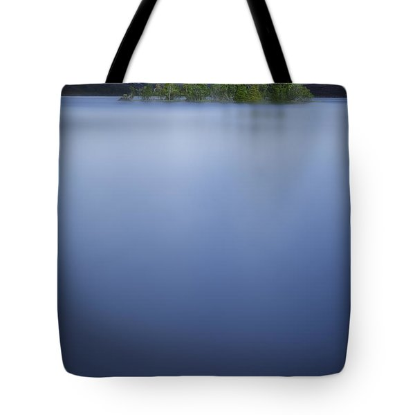 Prisoners Of The Blue Tote Bag by Dominique Dubied
