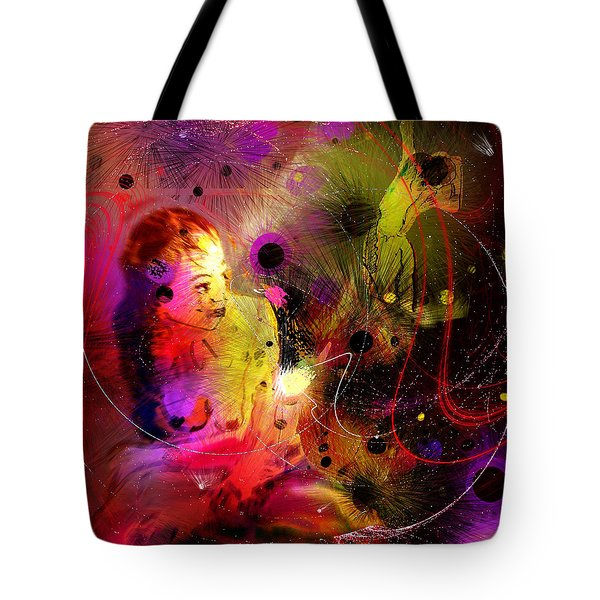 Prisonner Of The Past Tote Bag by Miki De Goodaboom
