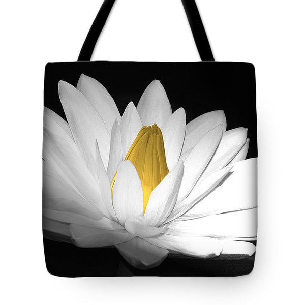Pristine Tote Bag by Cindy Manero