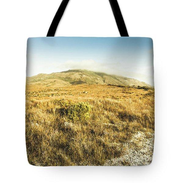 Pristine Mountain Plains Tote Bag