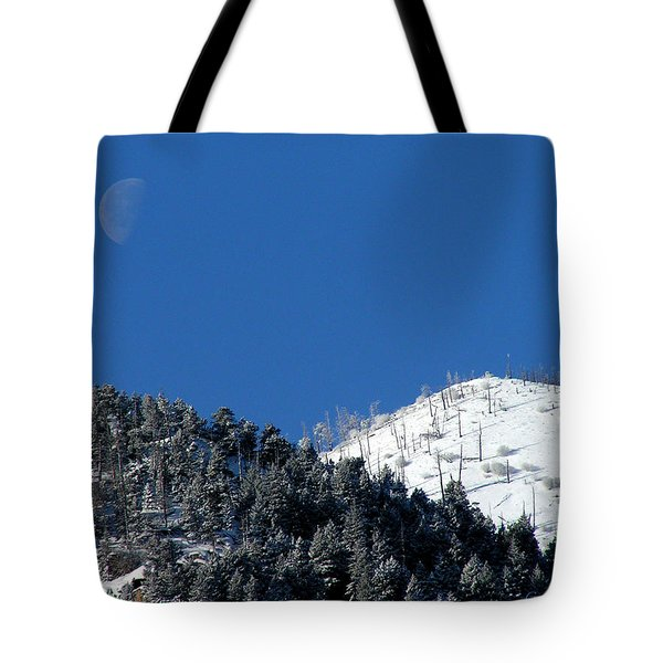 Pristine Winter Morning Tote Bag