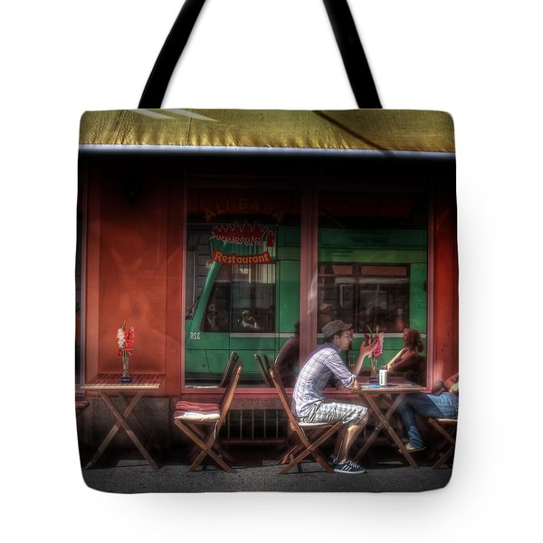 Private Moment Tote Bag