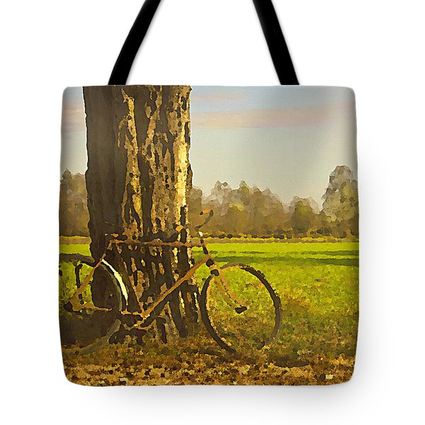 Private Parking Tote Bag