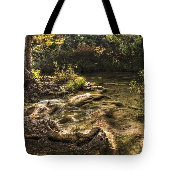 Tote Bag featuring the photograph Private Retreat by Tamyra Ayles