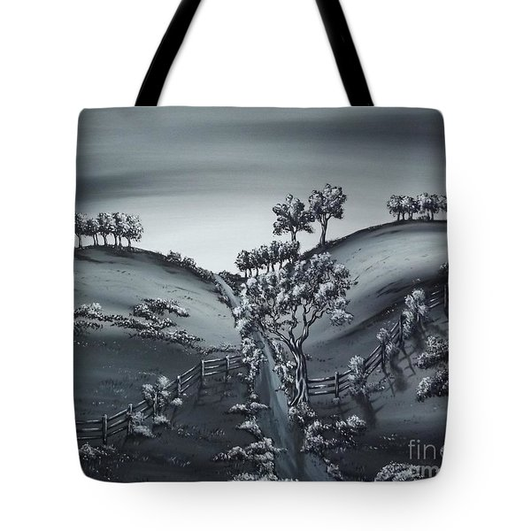 Private Road Tote Bag by Kenneth Clarke
