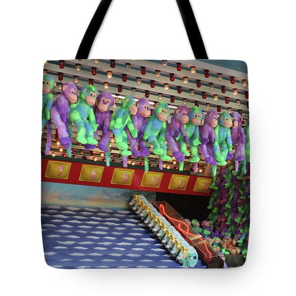 Prize Monkeys Tote Bag