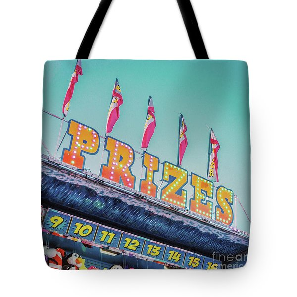 Tote Bag featuring the photograph Prizes by Cindy Garber Iverson