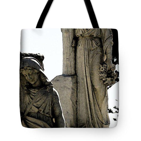 Procession Of Faith Tote Bag