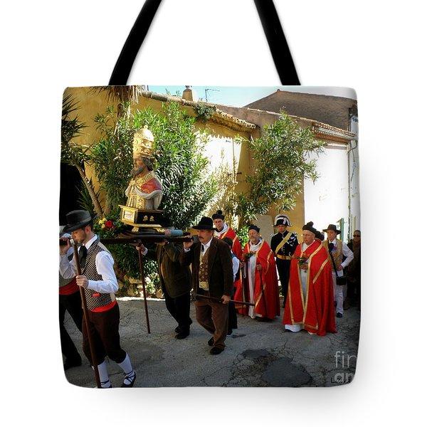 Procession Of Saint Clement Tote Bag