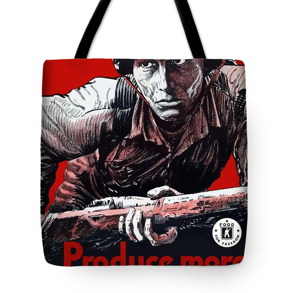 Produce More Milk For Him - Ww2 Tote Bag