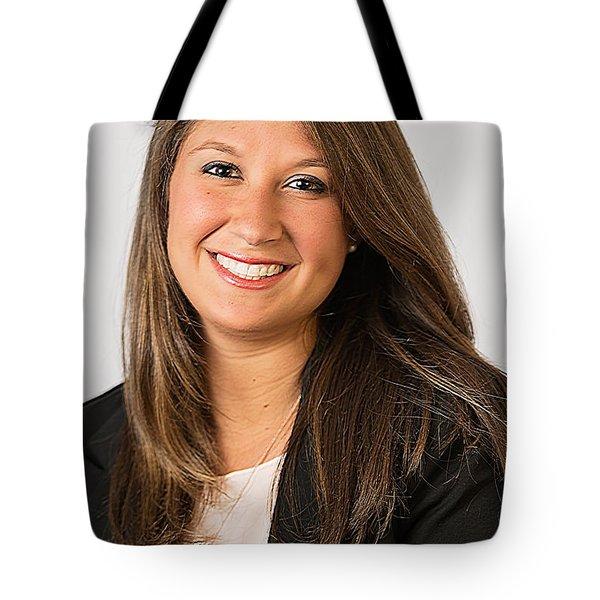 Professional Headshot Tote Bag