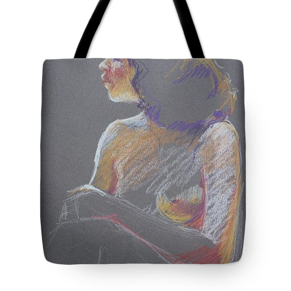 Profile 2 Tote Bag