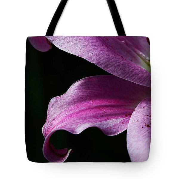 Profile In Pink Tote Bag by Cindy Manero
