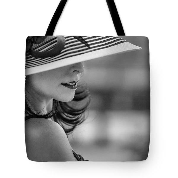 Profile Tote Bag by Linda Blair