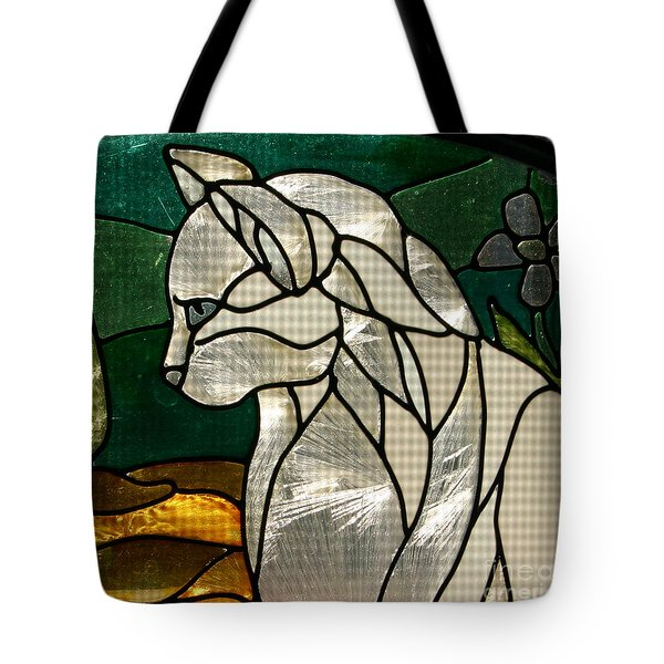 Profile Of A Cat Tote Bag