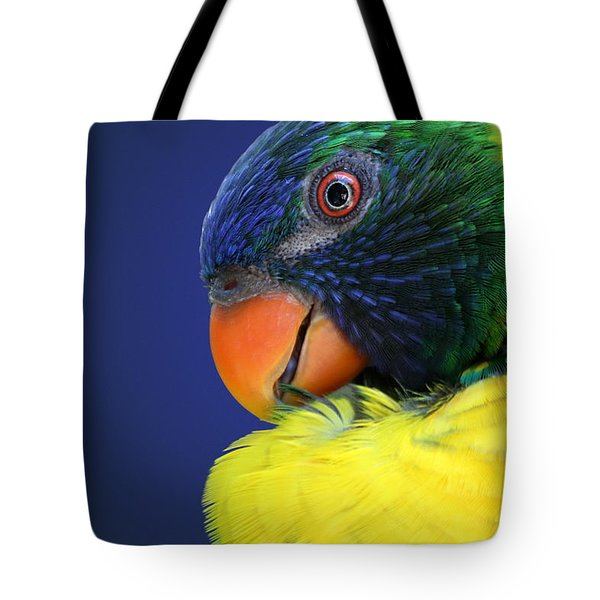 Profile Of A Lorikeet Tote Bag