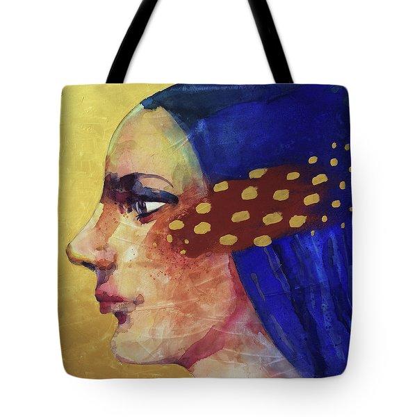 Profilo Di Donna Tote Bag by Alessandro Andreuccetti