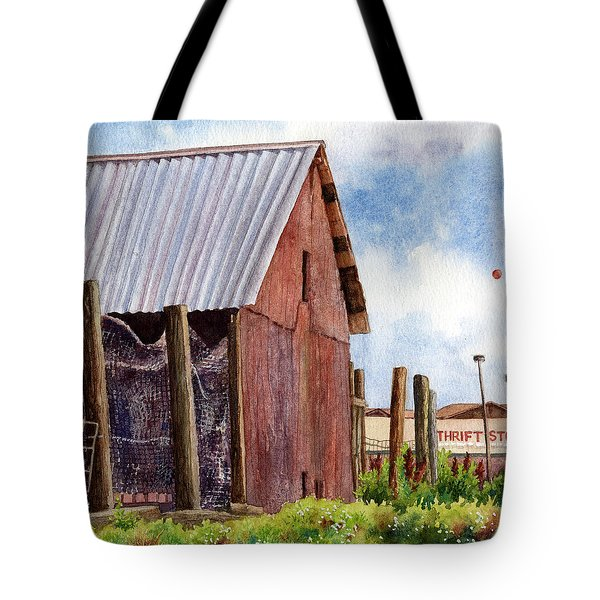 Tote Bag featuring the painting Progression by Anne Gifford