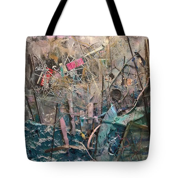 Progression Of Waste Tote Bag