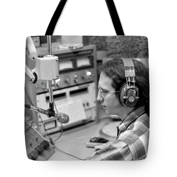 Progressive Rock Disc Jockey, 1975 Tote Bag