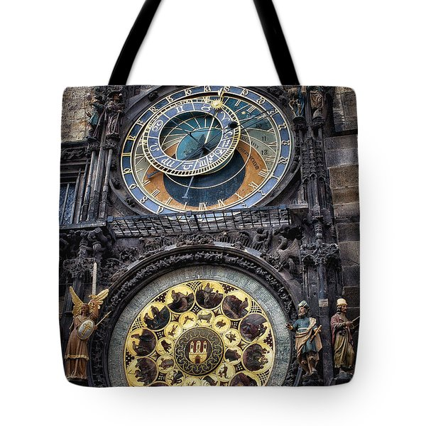 Progue Astronomical Clock Tote Bag