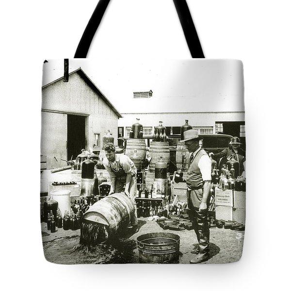 Prohibition Agents Tote Bag