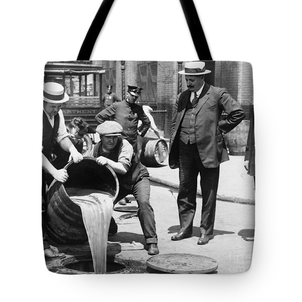Prohibition, C1921 Tote Bag by Granger